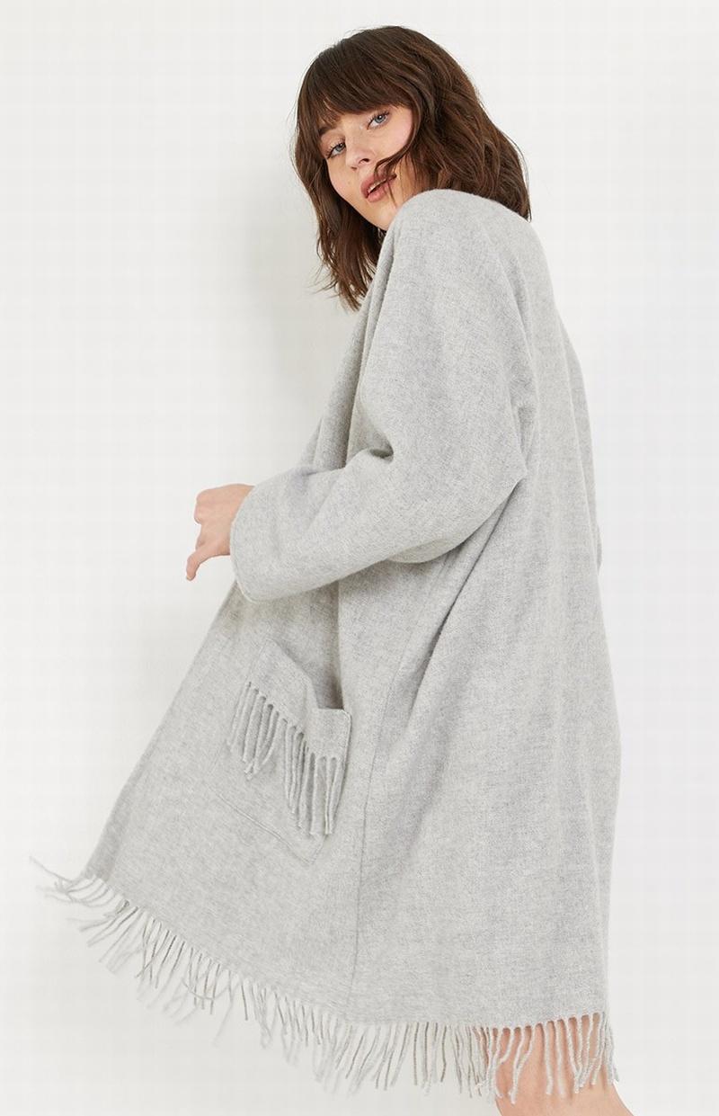 Fringe Kimono Robe